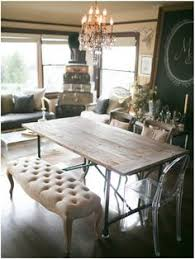 beautiful balance of soft and hard light and dark could totally diy the table for cheap and spend a little extra on seating a approved beautiful dining room office