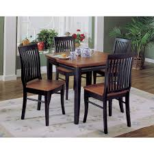 black dining table chairs x