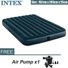 [Starzdeals] <b>Intex</b> Air Bed Fiber Tech Dura Beam Super Queen(1.52 ...