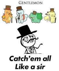 Gentlemon... the sophisticated Pokemon | Pokemon | Pinterest ... via Relatably.com
