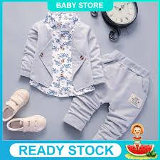 <b>Kid Baby Boy Gentry</b> Clothes Set Formal Party Christening Wedding ...