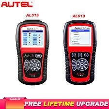 <b>Autel</b> AL619 <b>OBD2 Scanner</b> Car Diagnostic Tool Scanner Code ...