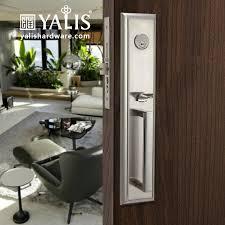 TS7315 Door Lock Types Exterior Locks Front Handles And Satin Nickel Nickel 01