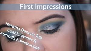 First Impressions | <b>Natasha Denona</b> Top Coat <b>Lavender</b>/Gold/Silver ...