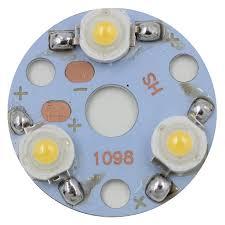 <b>30pcs</b> 3 X <b>1W</b> LED Star HIGH POWER +32mm High Power LED ...