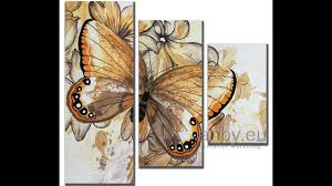 Butterfly - <b>Modular Painting</b> - YouTube