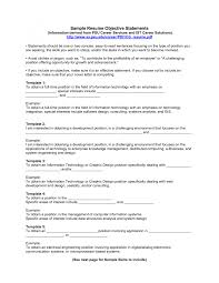 effective objectives for resumes template effective objectives for resumes