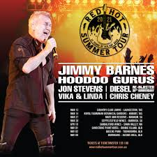 The Red <b>Hot Summer</b> Tour headlined by Jimmy Barnes | Events