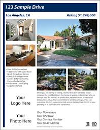 real estate flyer and postcard templates real estate flyers  sample flyers
