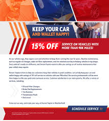 durant toyota new toyota dealership in weatherford tx  high mileage service offer