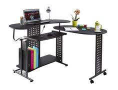 computer desk pc table folding home office furniture l shape black fold away black office desks