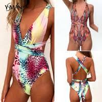 Discount Deep V Monokini   Deep V Neck Monokini 2020 on Sale at ...