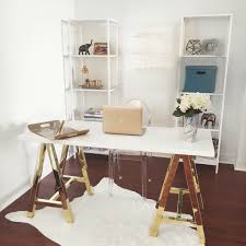 home office erika39s home office tour where two wander pertaining to the most incredible home beautiful home office makeover sita