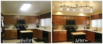 kitchen fluorescent lighting. elegant kitchen fluorescent light fixture pertaining to home remodel ideas with mini new lighting makes a world of difference
