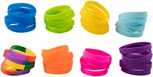 Rubber Wristbands - Amazon.com