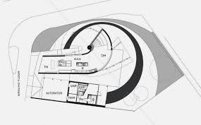 Unusual and Unique House in Spiral Shape   Kotilo House   Home    ground floor plan of Unusual and Unique House in Spiral Shape