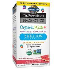 Garden of Life, <b>Dr</b>. <b>Formulated Probiotics</b>, <b>Organic</b> Kids+, Probiotics ...