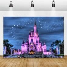 <b>Laeacco</b> Night Starry Sky <b>Castle</b> Trees Photography Backdrops ...