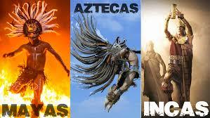 Resultado de imagen para diferencia entre los mayas incas y aztecas libros