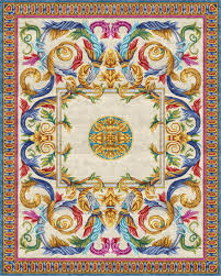 Buy rug Aubusson Heraldy <b>Floral</b> Grotesque online - designer rug ...