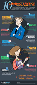 top 10 characteristics of the ideal project manager infographic top 10 characteristics of the ideal project manager infographic e learning infographics