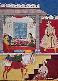 Image result for images of Ragmala paintings of Mewar