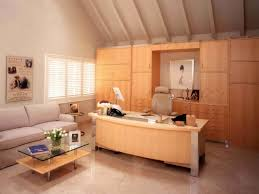 light colored wood furniture makes this home office feel spacious artistic luxury home office furniture home