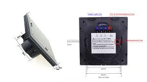 EU 1 Gang 2 Way Wall Light Controler <b>Smart Home Automation</b> ...