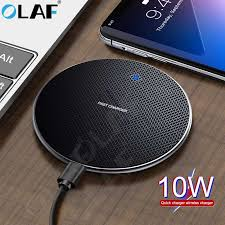 <b>OLAF 10W Qi Wireless</b> Charger For iPhone 11 Pro Max <b>Fast</b> USB ...