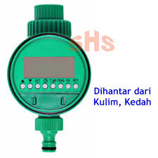 Garden <b>Automatic</b> Watering Timer <b>Electronic LCD</b> Display SHS Kebun