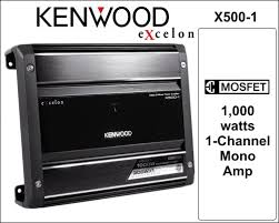 the install doctor the do it yourself car stereo installation kenwood x500 1 99 95 shipping mono subwoofer amp