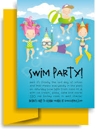 swimming party invitation template ctsfashion com swimming party invitations theruntime