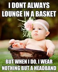 Lounging in Style: 50 Best Baby Memes - mom.me via Relatably.com