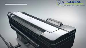 <b>HP DesignJet T830</b> 36-in Multifunction Printer - YouTube