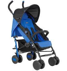 <b>Коляска</b>-<b>трость Chicco Echo</b> stroller с бампером, цвет: power blue ...