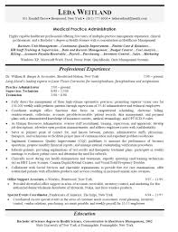 resume objective examples for healthcare professional cipanewsletter administration education resume s administration lewesmr