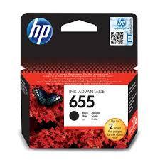 <b>Картридж</b> струйный <b>HP 655</b> CZ109AE черный оригинальный ...