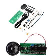 <b>5pcs DIY</b> Electronic Piano Making Kit Single Chip Microcomputer ...