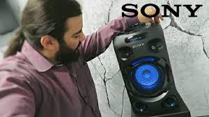 <b>Sony MHC</b>-<b>V02</b> (apresentando o aparelho) - YouTube