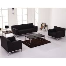 modern living room furniture sets combination with simple white wall and floor modern black modern living room furniture