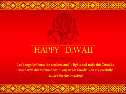 Diwali Invitation Wordings Messages, Greetings and Wishes ...