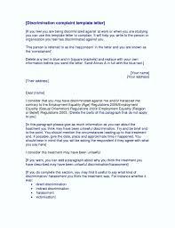 harassment complaint letter cover letter sample  harassment