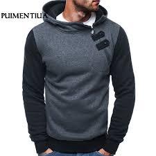 AliExpress <b>Puimentiua</b> Autumn Casual Men Sweatshirt Hoodies ...