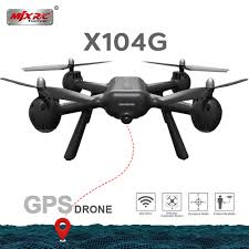 <b>2019 NEW</b> MJX X104G Hollow cup Motor GPS <b>RC Drone</b> With 5G ...