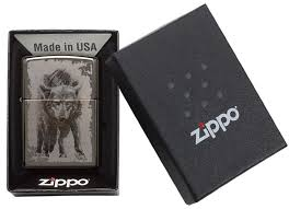 <b>Зажигалка ZIPPO</b> 49073 <b>Wolf Design</b>