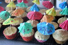 beach cupcake recipe the imagination tree beach themed cupcake recipe