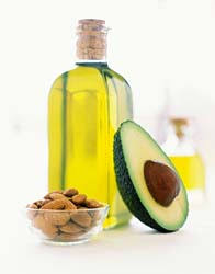 avocado, olive oil, nuts