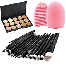 Professional Makeup Brushes Makeup Brush <b>Set 20pcs Portable</b> ...