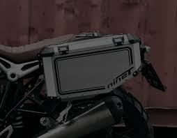 HOLAN: Nomada <b>Aluminum Motorcycle</b> Panniers