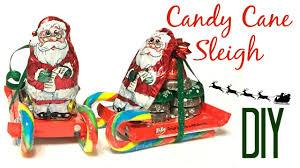 Candy Cane Sleigh DIY   Dollar Tree - YouTube